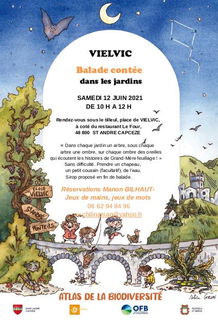 Balade contée à Vielvic
