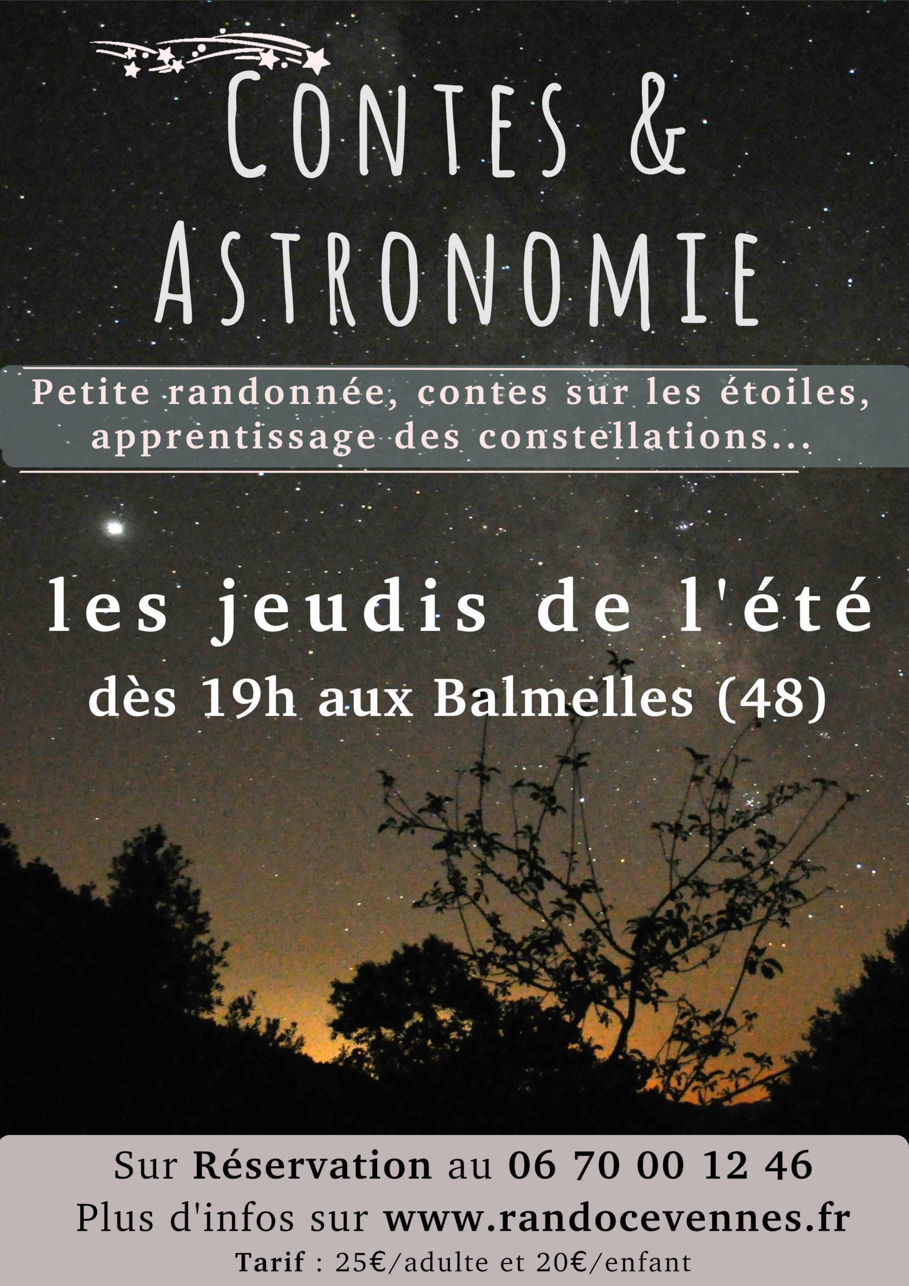 Soirée Astronomie & contes